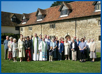 The Friars, Aylesford - group photo
